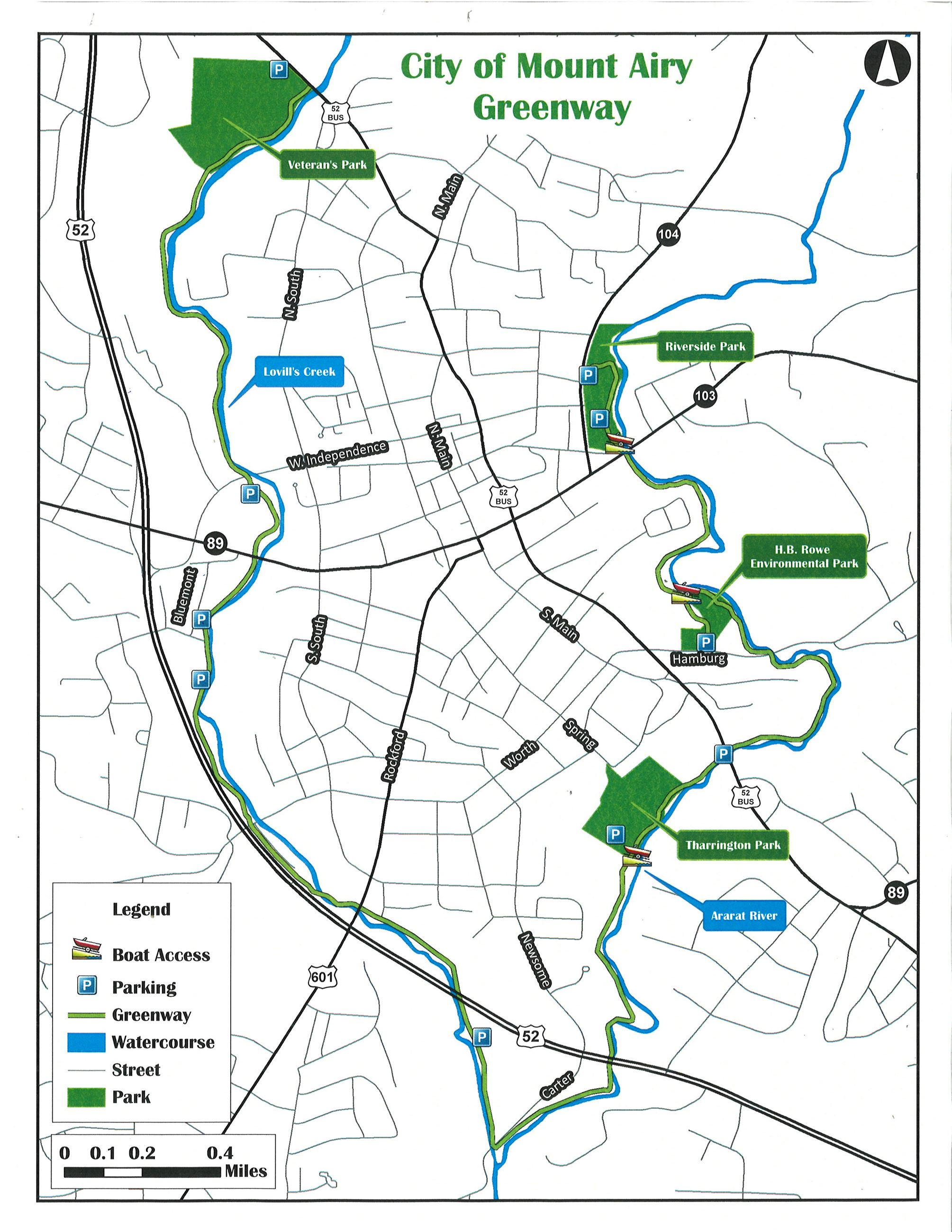 FULL Greenway Map