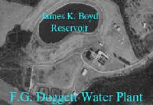 FG Doggett Water Plant Aerial