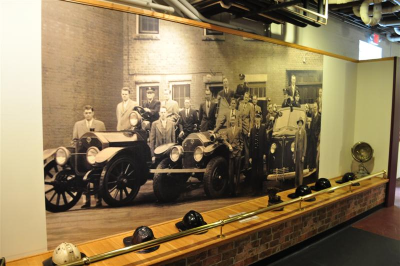 Historical Fire Department Photo & Helmets