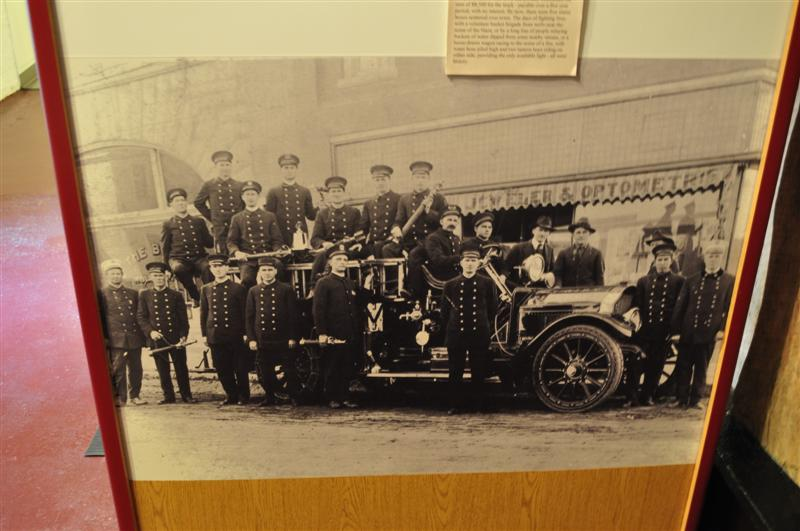 Historical Fire Department Personnel Photo