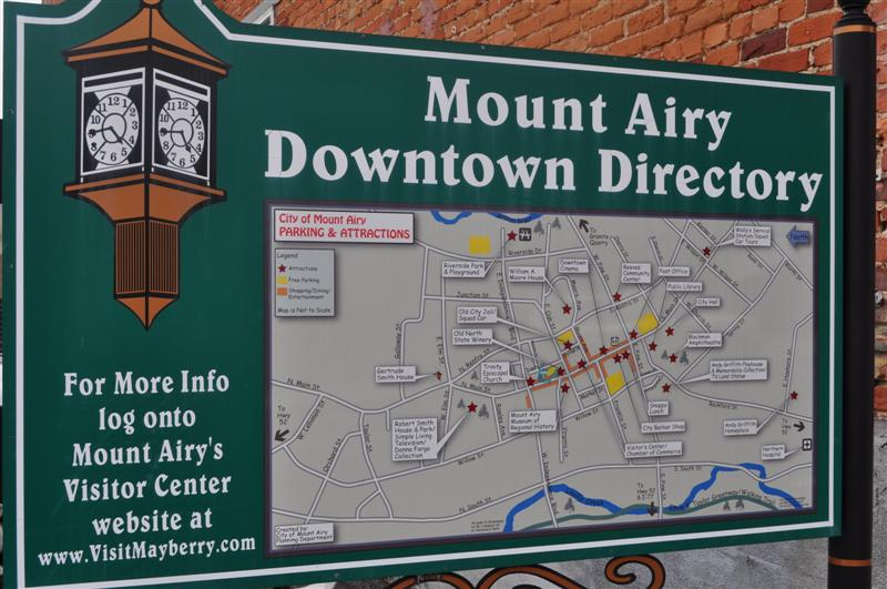 Mount Airy Downtown Directory