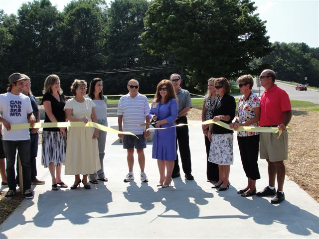 Skate Park Ribbon Cutting